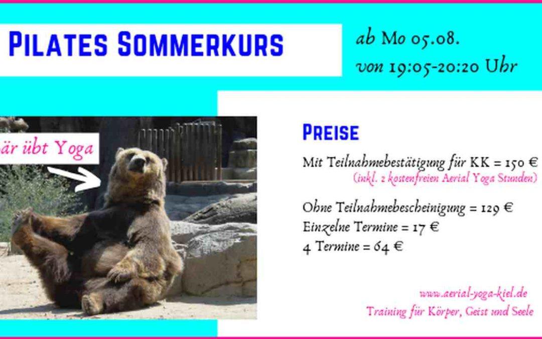 Pilates Sommerkurs – Pilates Präventionskurs