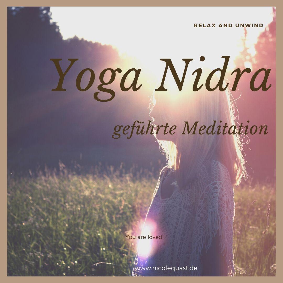 Yoga Nidra geführte Meditation