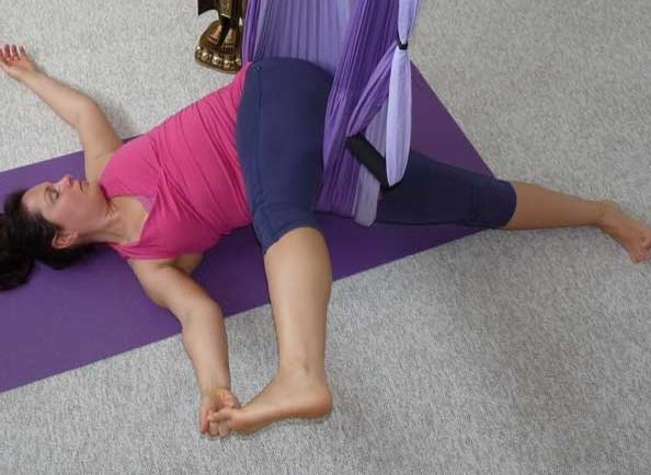 Aerial Yoga Ausbildung Regeneration