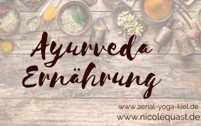 Ayurveda Ernährung für den Alltag