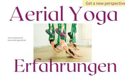 Aerial Yoga Ausbildung Erfahrungen