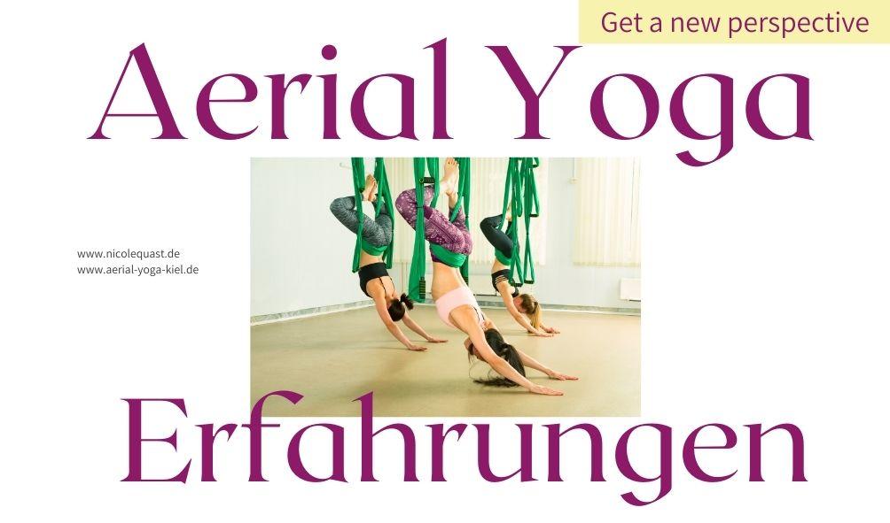 Aerial Yoga Ausbildungserfahrungen
