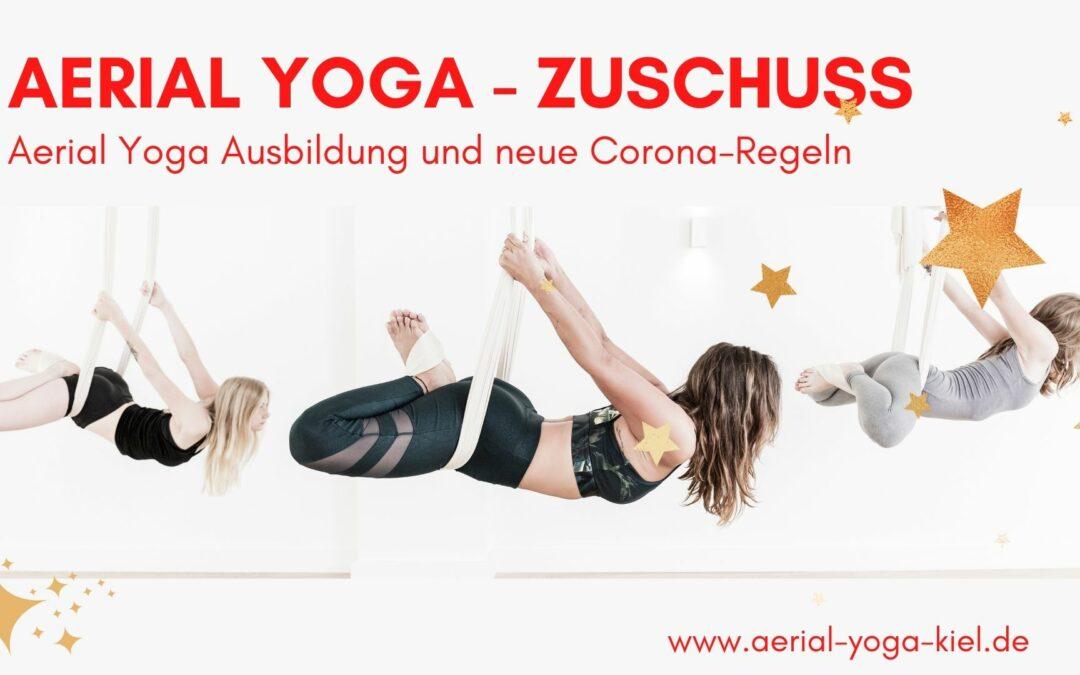 Aerial Yoga Ausbildung 2022 – eine Investition in dich selbst